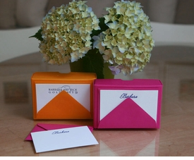 letterpress gift card enclosures