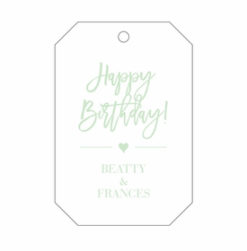 Letterpress Gift Tag-T101