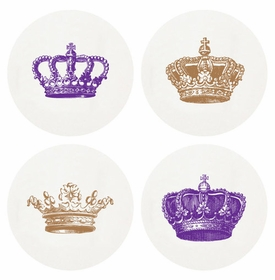 Letterpressed Regal Coasters