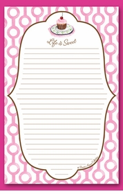 life is sweet note pad  - SOLD OUT