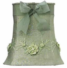 light green floral bouquet medium shade