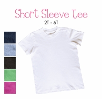 lil sis (blond) personalized short sleeve tee (toddler)