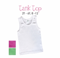 lil sis (blond) personalized tank top
