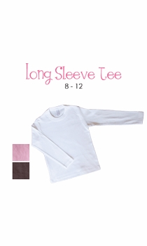 lil sis(brunette)  personalized long sleeve tee (youth)