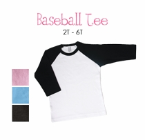 lil sister (brunette) personalized baseball tee (toddler)