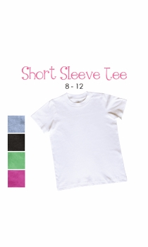 lil sister (brunette) personalized short sleeve tee (youth)