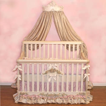 lillian bed crown by villa bella