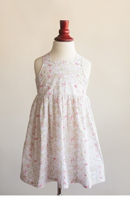 lillian dress - pink floral