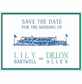 lily & dillon save the date card