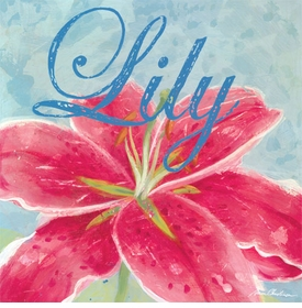 lily wall art - unavailable
