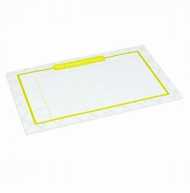 lime bamboo schedule pad