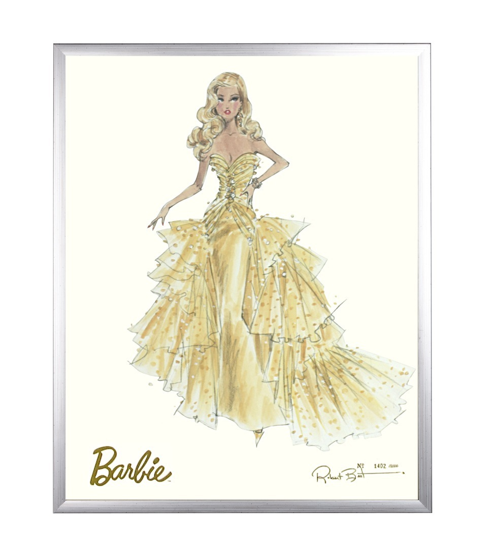 art for kids AFK limited edition barbie print (50th anniversary)