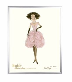 limited edition barbie print (blush)