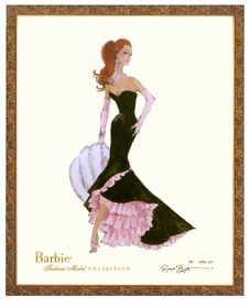 limited edition barbie print (siren)