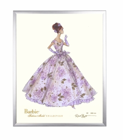 limited edition barbie print (violette)
