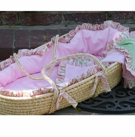 little bunny blue fit for a princess moses basket