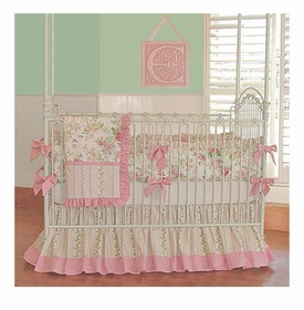 little bunny blue stephanie anne crib bedding