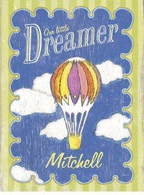 little dreamer vintage sign