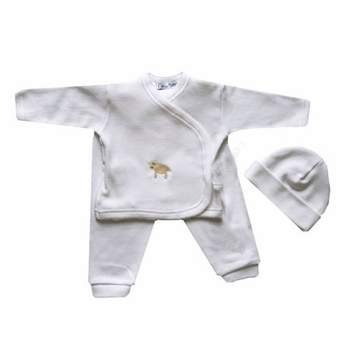 little lamb take me home 3 piece layette set