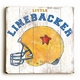 little linebacker vintage sign