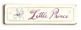 little prince 2 vintage sign
