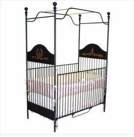 little prince panel canopy crib 42446