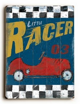 little racer ll vintage sign
