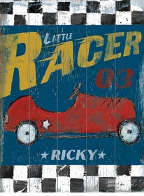 little Racer vintage sign