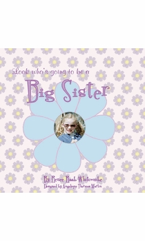 look who's going to be a big sister keepsake journal