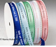 Loop Edge Personalized Ribbons