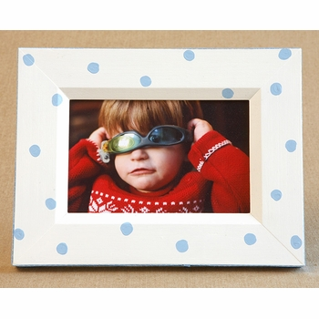 lotty dotty frame-baby blue  - no longer available