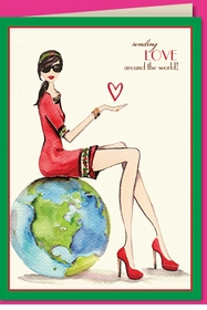 love around the world (set of 10)