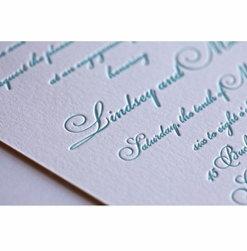 lovely lindsey invitation card