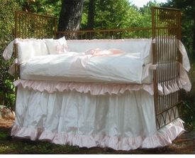 Lulla Smith pretty baby crib skirt