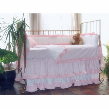 lulla smith princess II crib bedding