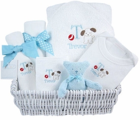 luxury baby gift basket - sailor