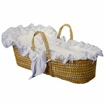 luxury moses basket by blauen