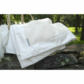 luxury receiving blanket with boarder