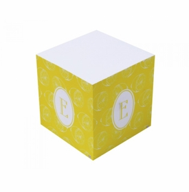 lyford lemonade sticky note cube