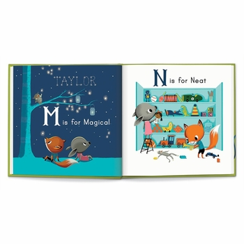 m is for me personalized kids book