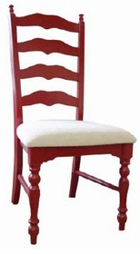 maine ladderback side chair