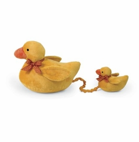 mama and duck musical plush by north american bear