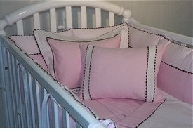 manhattan crib bedding by lullaby