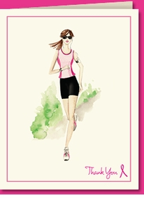 marathon runner - brunette - SOLD OUT