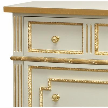 marcheline chest blue with gold gilding