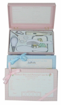 medical keepsake box by child to cherish