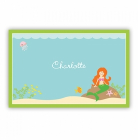 Mermaid Disposable Placemat