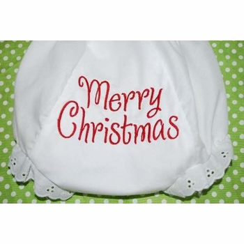 merry christmas bloomers