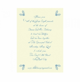 merry mint invitation cards