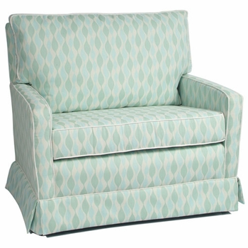 mesa chair and a half glider<br> (designed with your choice of fabric)